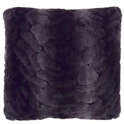Pillow Sham - Luxury Faux Fur in Aubergine Dream