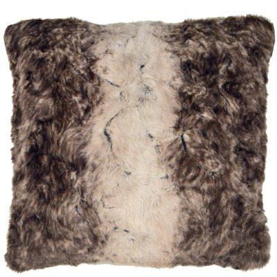 "Pillow Sham - Luxury Faux Fur in Fawn 16"" / Add Pillow Form / Fawn Home decor Pandemonium Millinery"