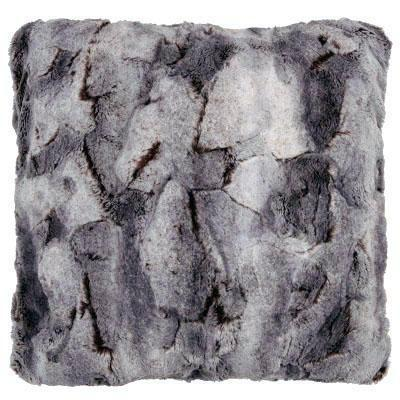 "Pillow Sham - Luxury Faux Fur in Giant's Causeway 16"" / Add Pillow Form / Giant's Causeway Home decor Pandemonium Millinery"
