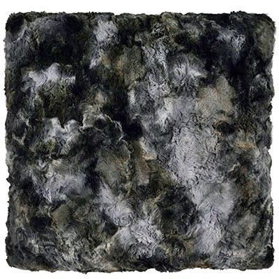 "Pillow Sham - Luxury Faux Fur in Highland 16"" / Add Pillow Form / Skye Home decor Pandemonium Millinery"