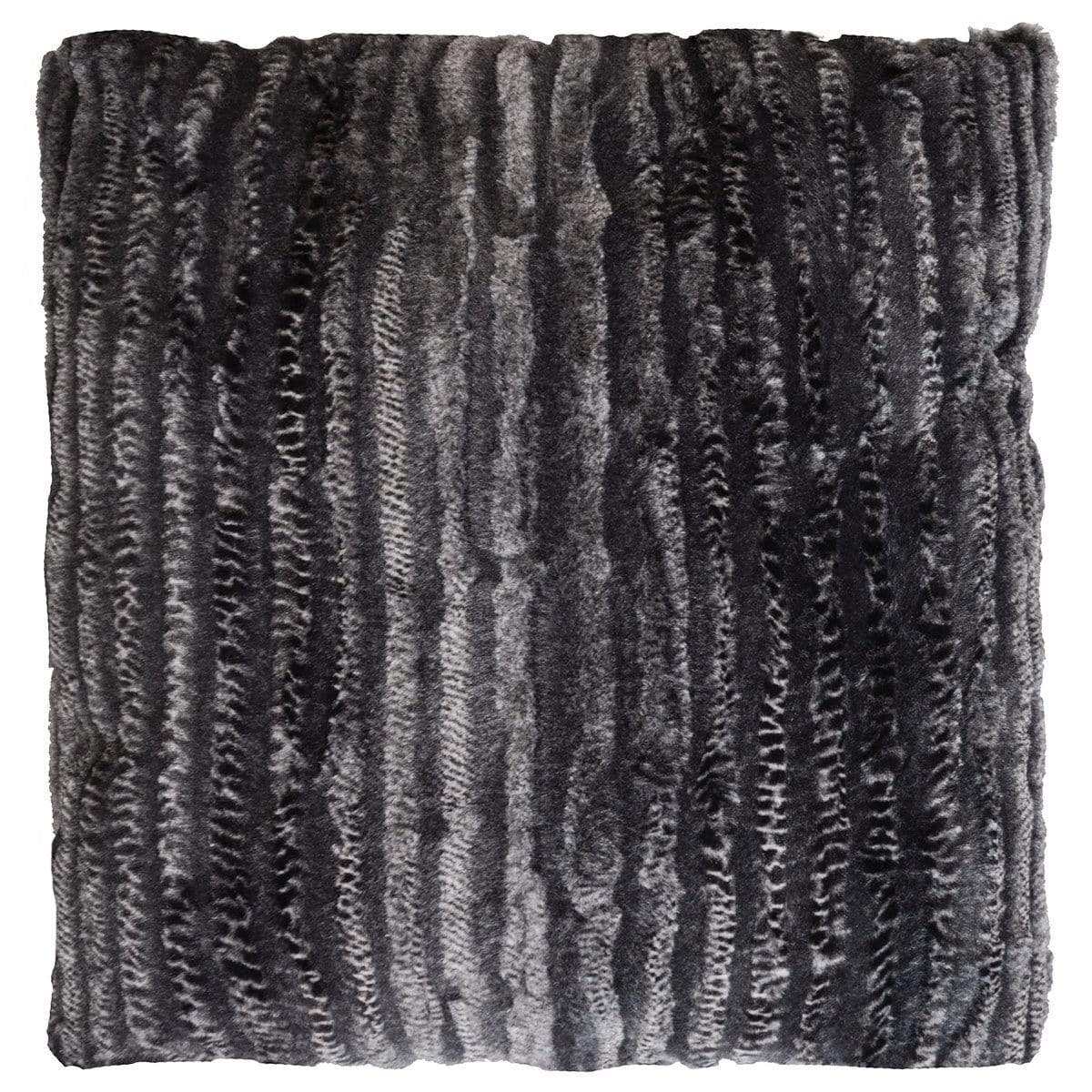 Pillow Sham - Luxury Faux Fur in Rattle N Shake