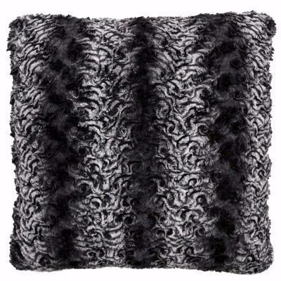 Pillow Sham - Luxury Faux Fur in Smoky Essence (2 LEFT!)