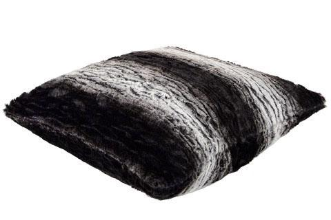 "Pillow Sham - Luxury Faux Fur in Smouldering Sequoia 16"" / Add Pillow Form / Smouldering Sequoia Home decor Pandemonium Millinery"