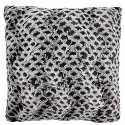 Pillow Sham - Luxury Faux Fur in Snow Owl