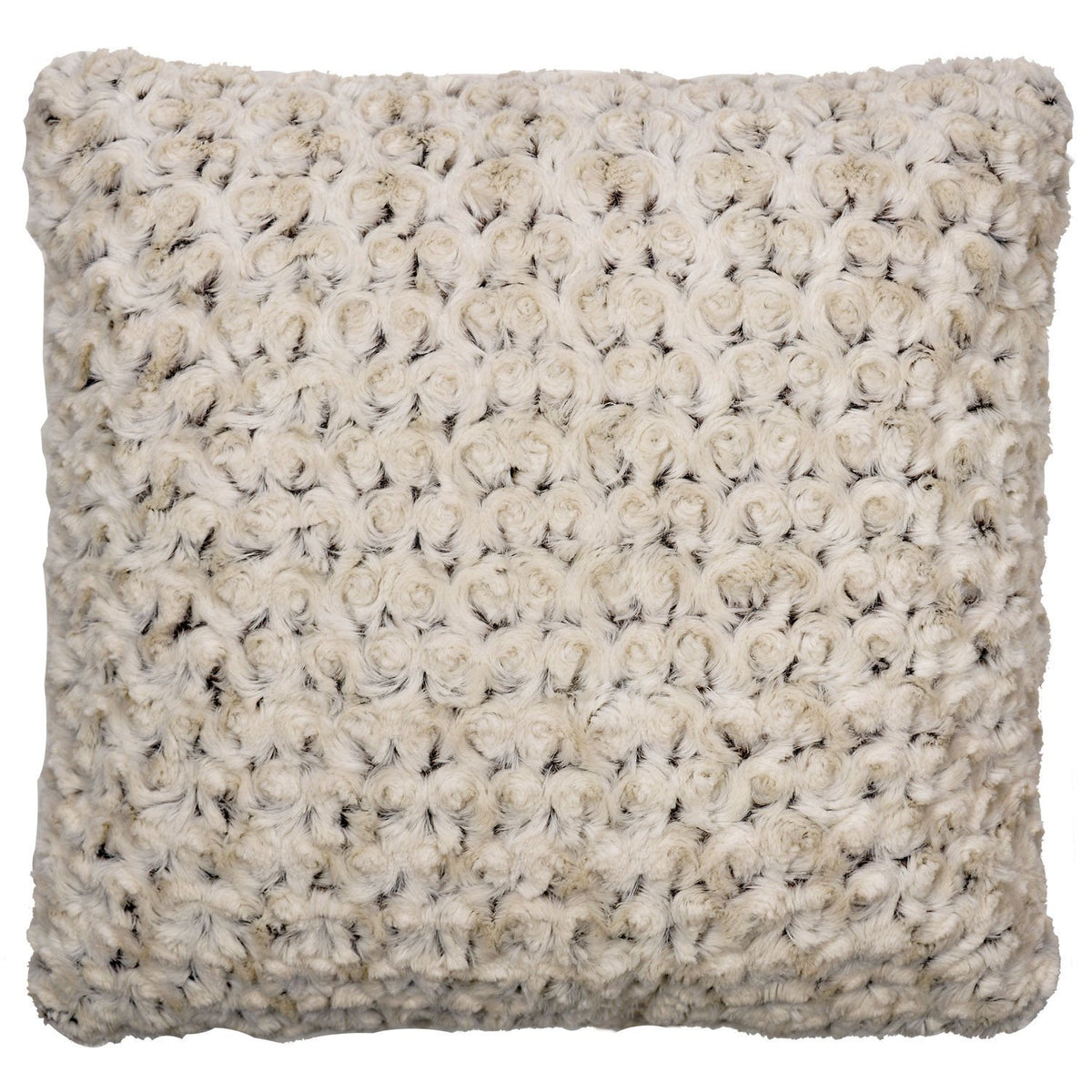 Pillow Sham - Rosebud Faux Fur