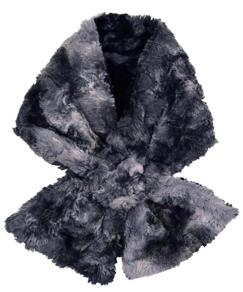 Pandemonium Millinery Pull-Thru Scarf - Luxury Faux Fur in Highland (Meadow - 4 LEFT!) Scarves