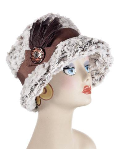 Samantha Hat Style - Luxury Faux Fur in Sienna Stratus (SOLD OUT)