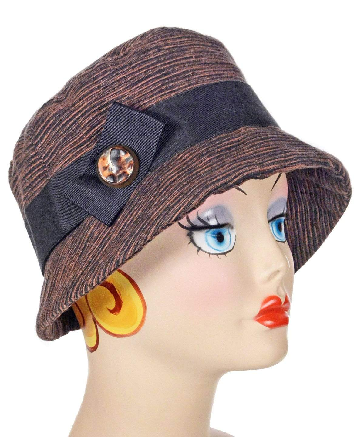 Samantha Hat Style - Sonora Brown/Black (One Medium Left!)