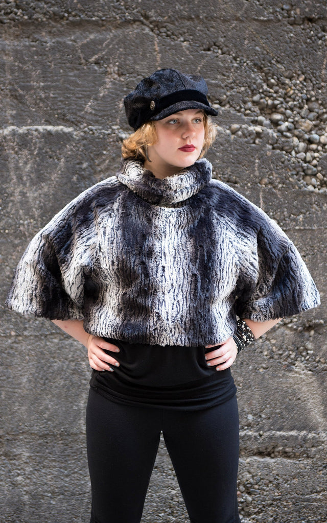 Sweater Top - Luxury Faux Fur in Smouldering Sequoia Small / Medium / Smouldering Sequoia / Regular Outerwear Pandemonium Millinery