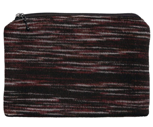 Pandemonium Millinery Toiletry Pouch - Sweet Stripes Collection Cherry Cordial Handbag