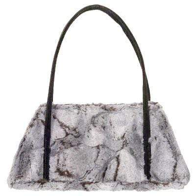 Pandemonium Millinery Valencia Style Handbag - Luxury Faux Fur in Giant's Causeway (One Left!) Handbag