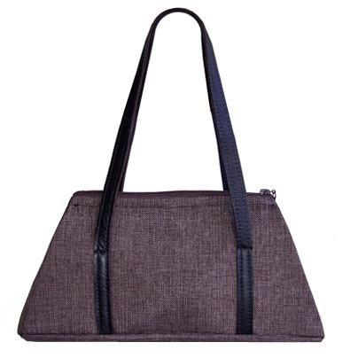 Valencia Style Handbag - Origin in Java Upholstery Origin in Java / Leather Handbag Pandemonium Millinery