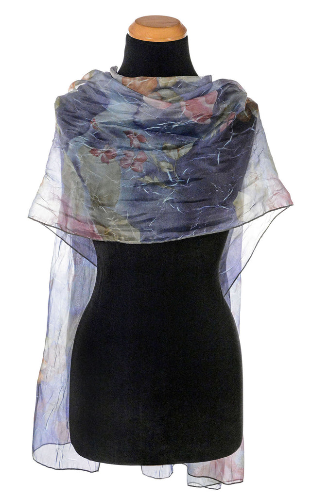 Coastal Garden Wrap - Sea Lavender Sea Lavender Apparel Pandemonium Millinery