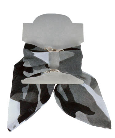 Women's Wrist Scarf in Black Ops | Handmade in Seattle WA | Pandemonium Millinery