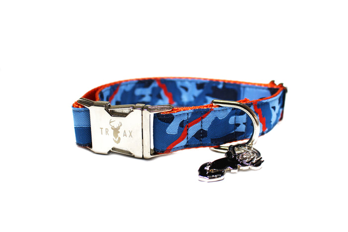 The Drake (Navy) // Ribbon Collar