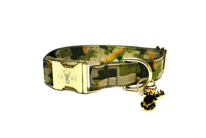 The Drake (Olive) // Ribbon Collar