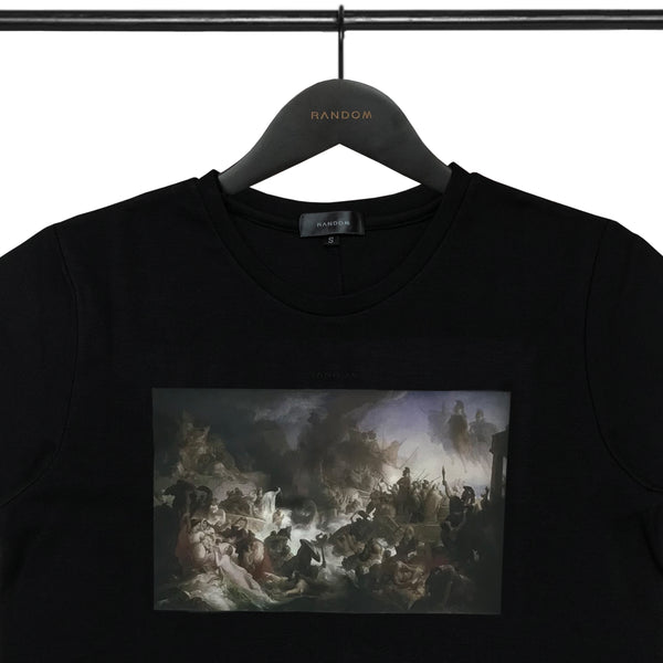 The Battle of Salamis Print T-Shirt