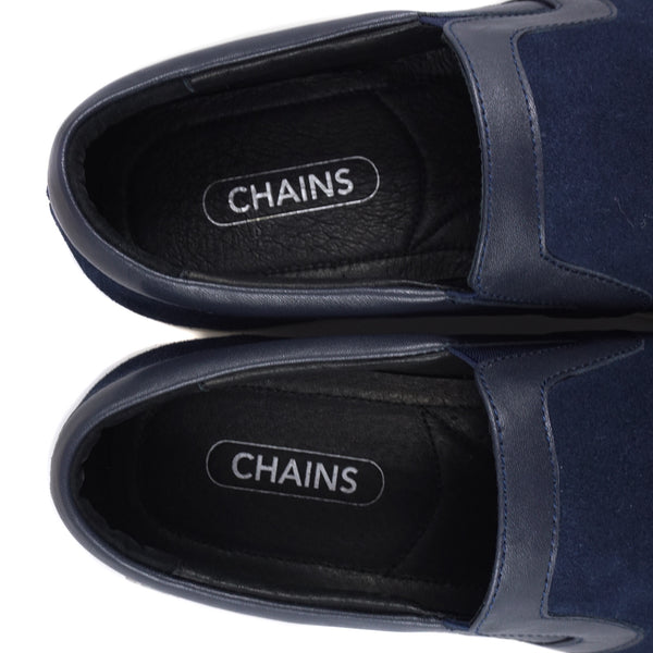 Navy Lian Slip-on - Chains Connection