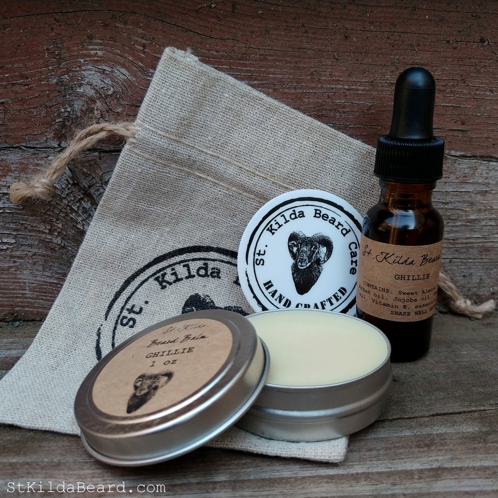 Beard Oil & Balm Sampler Gift Bag