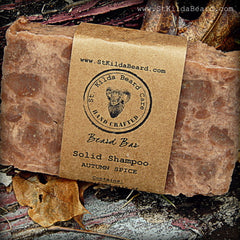 St. Kilda Homemade Soap Shampoo Bar Autumn Spice