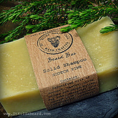 St. Kilda Homemade Soap Shampoo Bar Scotch Pine