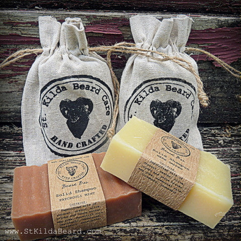 St. Kilda Homemade Soap Shampoo Bar