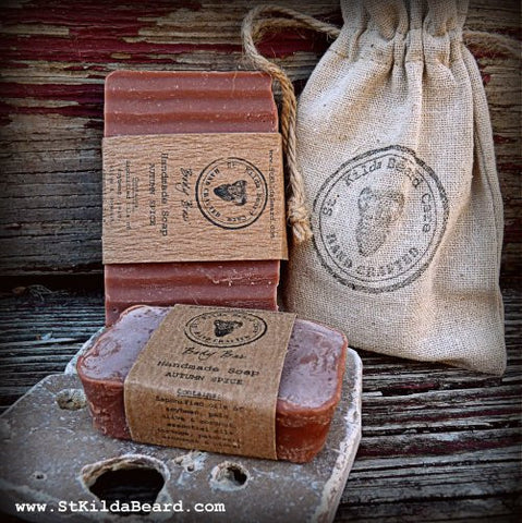 St. Kilda Homemade Soap Body Bar Autumn Spice