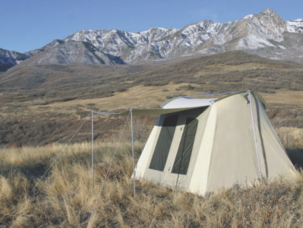 Kodiak Canvas Flex-Bow 10x10 Deluxe Canvas Tent : kodiac tent - memphite.com