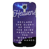 """The Heavens Declare""  Phone Cases for iPhone & Galaxy"