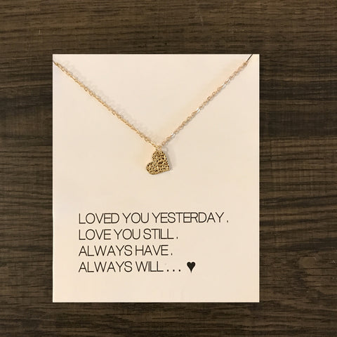 Promote LOVE Necklace