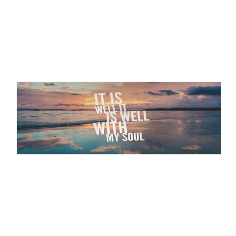 Well With My Soul - Fitness Workout Mat