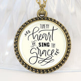 Tune My Heart Necklace & other Jewelry
