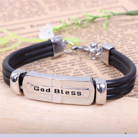 Trendy  Bracelet Titanium Steel - Christian Jewelery