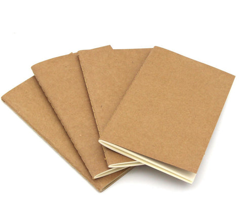 Leather Journal Note Book Refills - Size A6 Compatible (3 Pack)