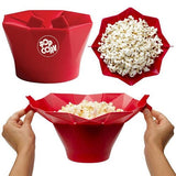 Microwaveable Popcorn Popper Provides a Healthy Snack for You and Your Family