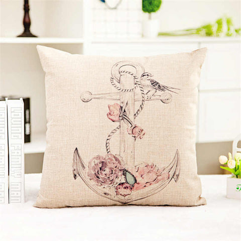 Hope as an Anchor Hebrews 6:19 Pillow Covers