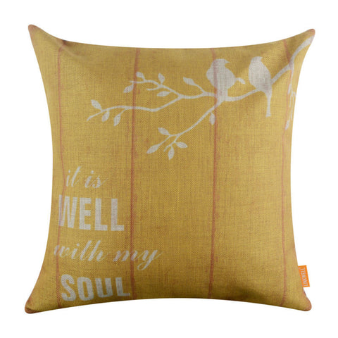 Well with my Soul Pillow Cover