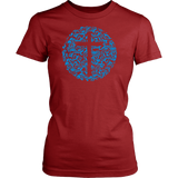 Womens Comfy Garden Cross Tee