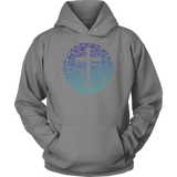 Men & Womens Garden Cross Hoodie