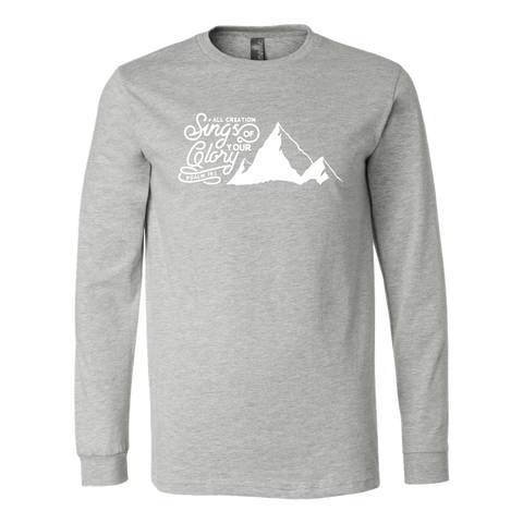 All Creation Sings Long Sleeve T-Shirt