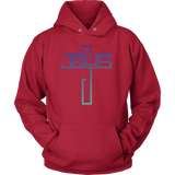 Men or Women's Retro Jesus Cross Hoodie