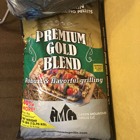 GMG Pellets Gold