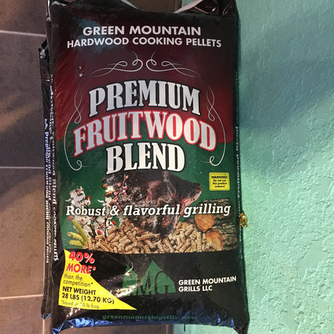 GMG Pellets fruitwood