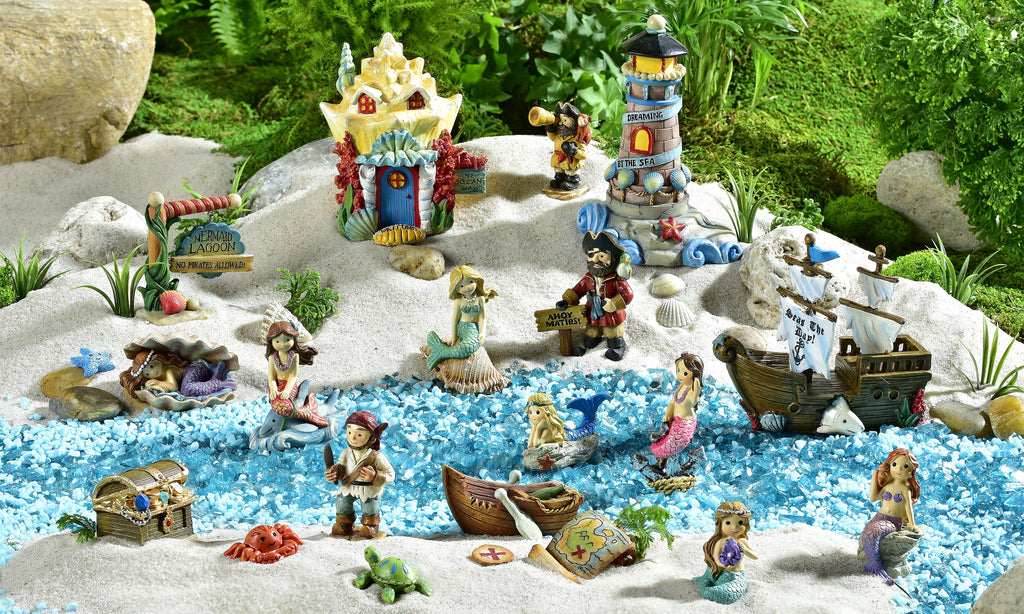 Under The Sea Mini World Mermaid Garden