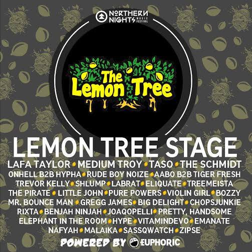 Lemon Tree Stage At Northern Nights!