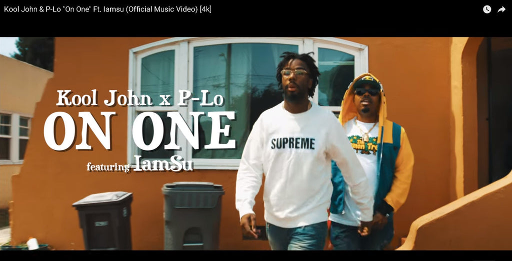 "Kool John sporting Lemon Tree TShirt in ""On One"" Ft. Iamsu (Official Music Video)"