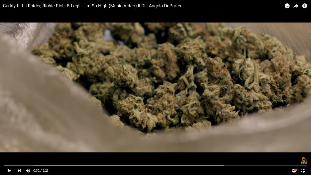 Cuddy ft. Lil Raider, Richie Rich, B-Legit - I'm So High (Music Video) ll Dir. Angelo DePrater