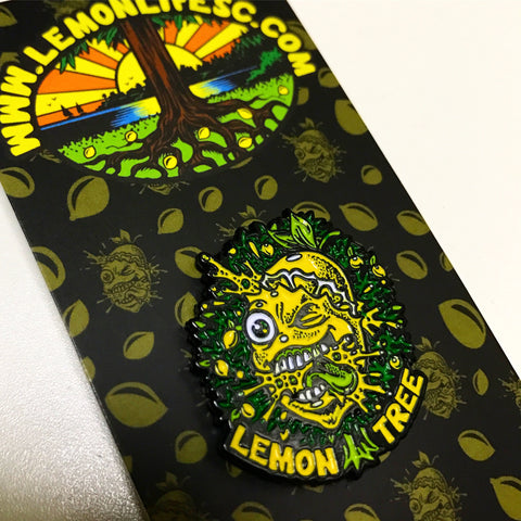 "The ""Original Lemon Splat"" Hat Pin"