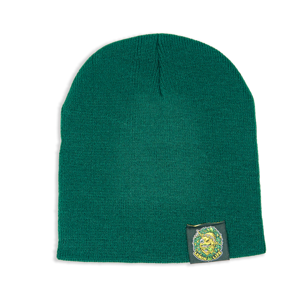 Lemon Life Green Beanie