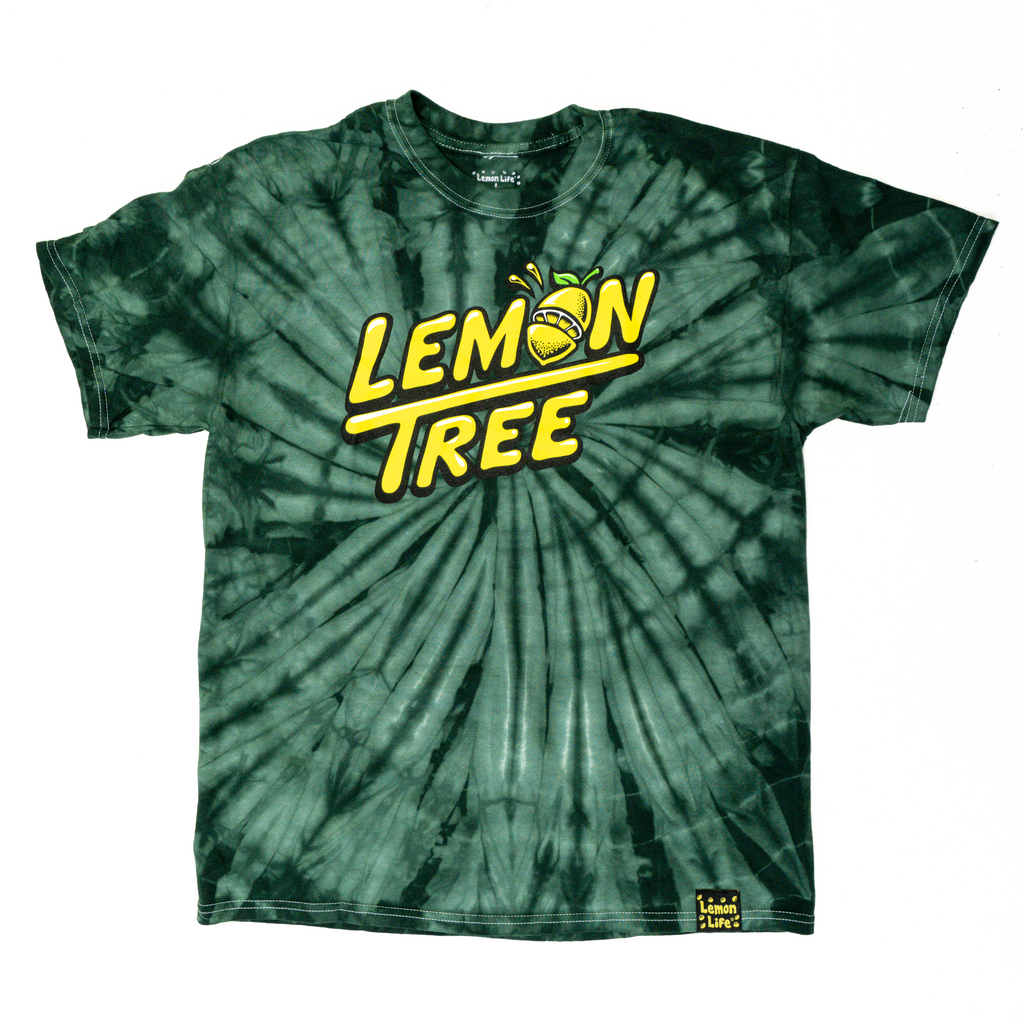 Lemon Tree Handstyle Tie Dye
